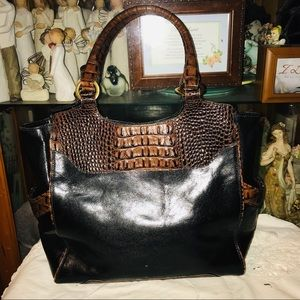 Brahmin Leather Hobo Shoulder Bag